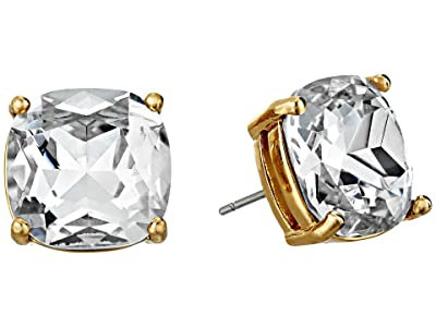 Kate Spade New York Small Square Studs (Clear) Earring