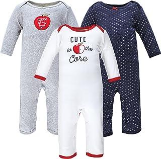 Hudson Baby Kombinezon dziecięcy Uniseks - niemowlęta Hudson Baby Unisex Baby Cotton Coveralls, Apple