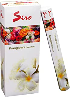 Siro Incense Sticks Gift Pack Premium Long Lasting Aroma Perfect for Yoga, Meditation, Relaxation & Aromatherapy (Frangipa...