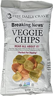 The Daily Crave Veggie Chips - 170 gm