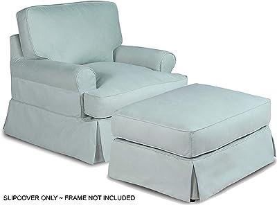 Sunset Trading Horizon furniture-slipcover, Configurable, Aqua Blue