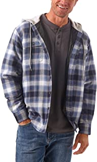 Wrangler Authentics Men's Long Sleeve Quilted Line...