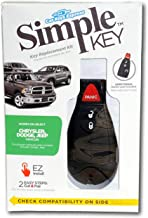 $109 » Simple Key Programmer and Key Fob Designed for Chrysler, Dodge, Jeep, Ram, Volkswagen Vehicles (Keyless Entry Remote Fob &...