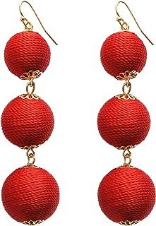 Best orange ball earrings Reviews