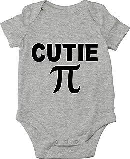 Crazy Bros Tees, Cutie Pie - Math Parody Funny Cute Novedad Bebé Mono De Una Pieza - - recién nacido