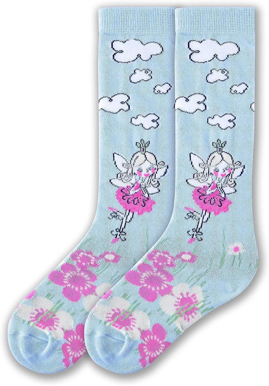 K Bell Socks Girls Big Novelty Knee High