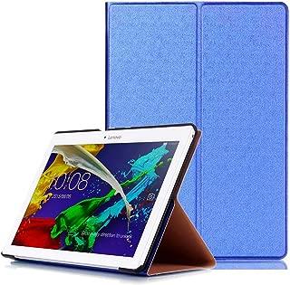 Protección Caja para Lenovo Tab 2 A10-30 F/L 10.1 Pulgadas Smart Slim Case Book Cover Stand Flip TB2-X30 F/L (Azul) NUEVO