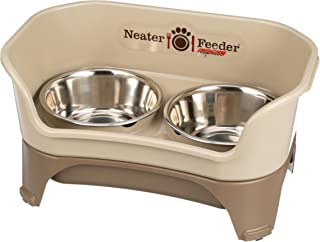 Neater Feeder Express (Medium to Large Dog) - With Stainless Steel, Drip Proof, No Tip and Non Slip Dog Bowls and Mess Pro...