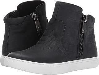 Kenneth Cole New York Women's Kiera High Top Double Zip Fashion Sneaker-Embossed