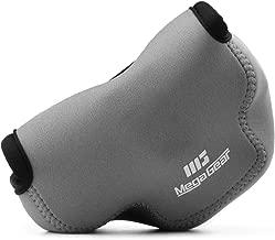 MegaGear MG1357 Olympus OM-D E-M10 Mark III, E-M10 Mark II (14-42mm EZ Lens) Ultra Light Neoprene Camera Case - Gray