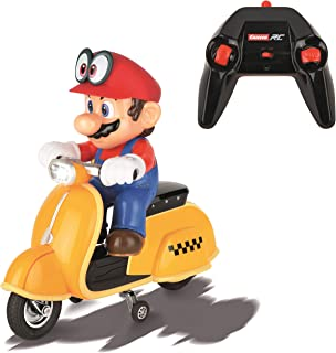 Carrera RC Official Licensed Super Mario Odyssey Scooter 1: 20 Scale 2.4 Ghz Remote Radio Control Car with Rechargeable Li...