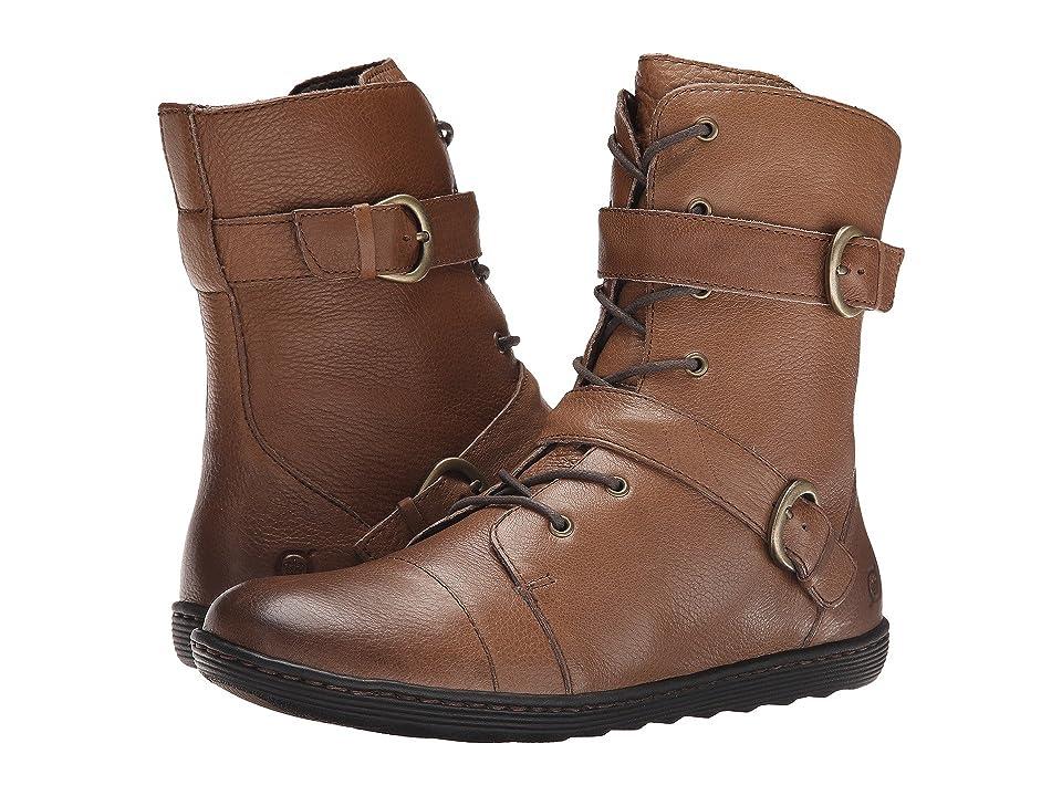 Born Calina (Taupe Full Grain Leather) Women