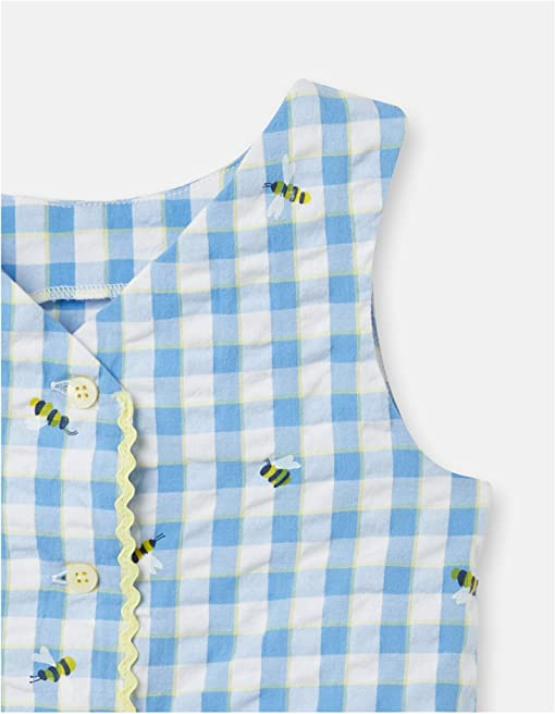 Blue Bees Check