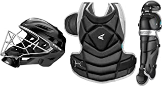 Easton The Fundamental by JEN SCHRO Female Catchers Protective Box Set | 2020 | Streamlined Helmet + Steel Cage | Chest Protector - Breathable & Lightweight | Leg Guards - Extra Inner Knee Foam