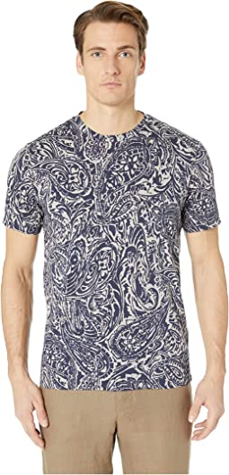 Regular Fit Tribal Paisley T-Shirt