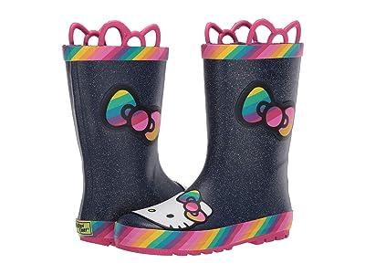Western Chief Kids Hello Kitty Rainy Bow Rain Boots (Toddler/Little Kid/Big Kid) (Rainbow) Girl