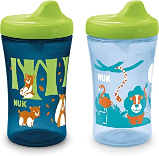 NUK Hide 'n Seek Hard Spout Sippy Cup, 10 oz, 2 Pack, 9+ Months