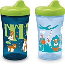 NUK Hide 'n Seek Hard Spout Sippy Cup, 10 oz, 2 Pack, 9+ Months