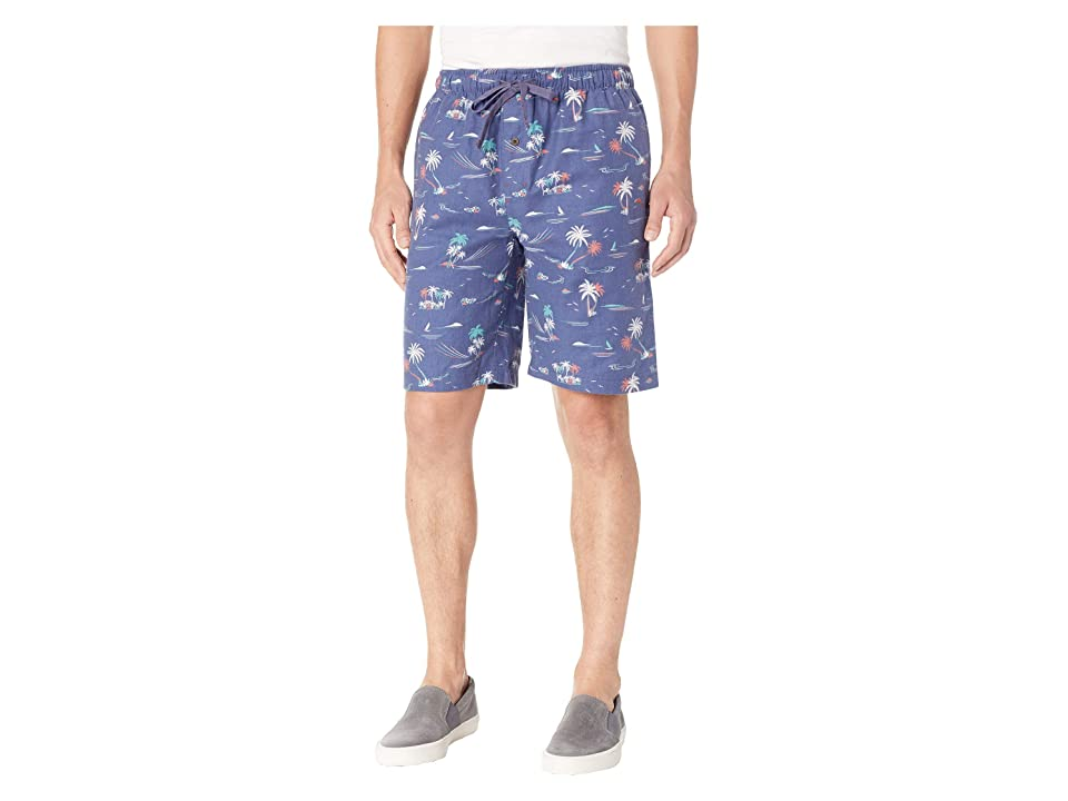 Tommy Bahama - Tommy Bahama Printed Flannel Jam Shorts