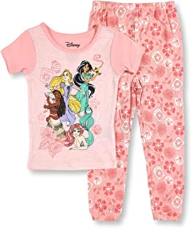 DISNEY PRINCESS 2 pc Set Girls Pajamas Choose Size  Size 6//6x 10//12 NEW