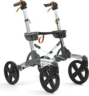 Volaris All-Terrain Patrol Fitness Rollator Walker with Four 10