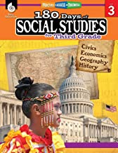 180 Days of Social Studies: Grade 3 – Daily Social Studies Workbook for Classroom and Home, Cool and Fun Civics Practice, Elementary School Level … Created by Teachers (180 Days of Practice) PDF