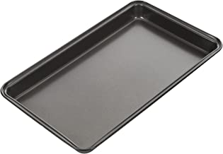 MASTERPRO MPHB32 Brownie Pan, Carbon Steel/Black