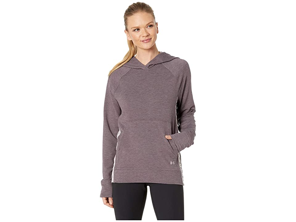 Under Armour Featherweight Fleece Hoodie (Tetra Gray/Tetra Gray/Tonal) Women
