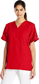 Women's V Neck Scrubs Shirt