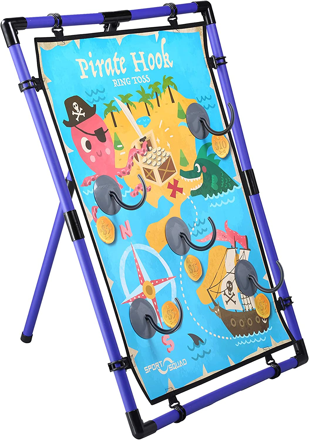 Sport Squad Pirate Hook Ring G Ranking TOP3 Indoor Columbus Mall Toss Outdoor -