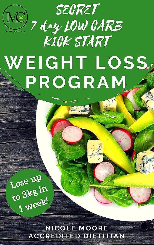 Secret 7 Day Low Carb Kick Start Weight Loss Program (English Edition)