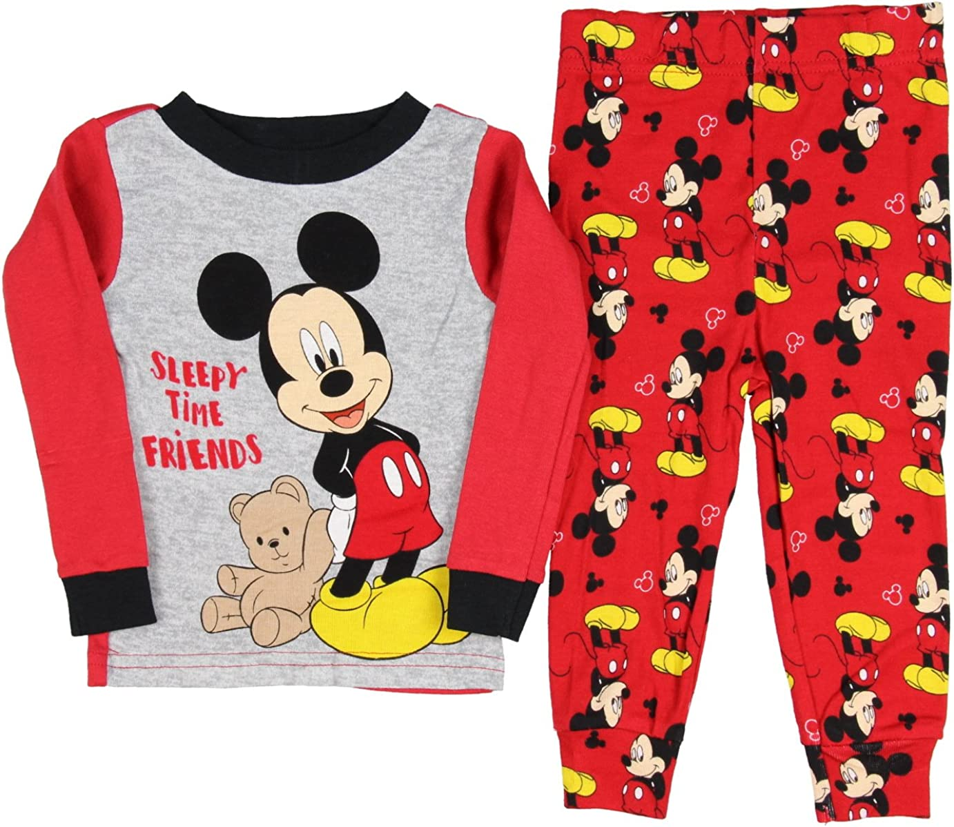 Mickey Mouse Long Sleeve Pyjamas for Baby Boys