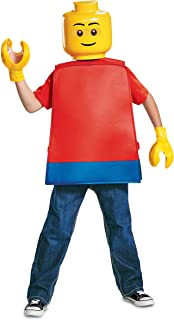 Child's Iconic Basic LEGO Guy Minifigure Costume