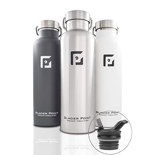 f664544f2b Glacier Point Vacuum Insulated Stainless Steel Water Bottle  (32oz|25oz|17oz) Double