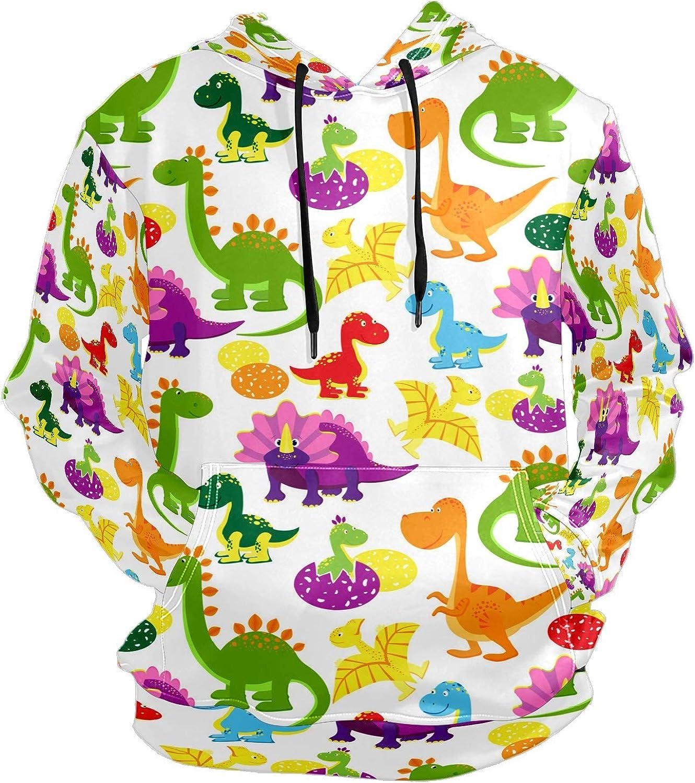 Lovely Baby Dinosaurs Eggs Mens Sport Hoodie Big and Tall Hoodies for Men Women Oversized Hooded Sweatshirt Hip Hop Pullover Hoodie Midweight Hood for Boys Girls