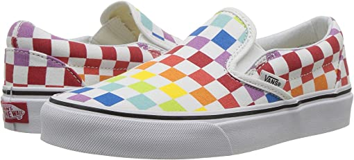 (Checkerboard) Rainbow/True White