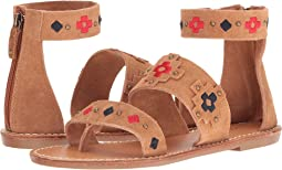 Embroidered Three Banded Sandal