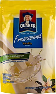 Quaker FrescAvena Vanilla Flavor Oat Beverage Mix, 11.1-Ounce Package