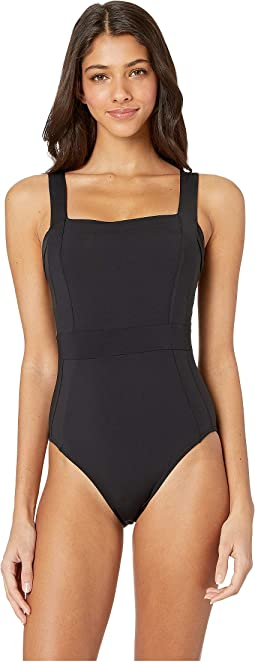 Jetset  Square Neck One-Piece
