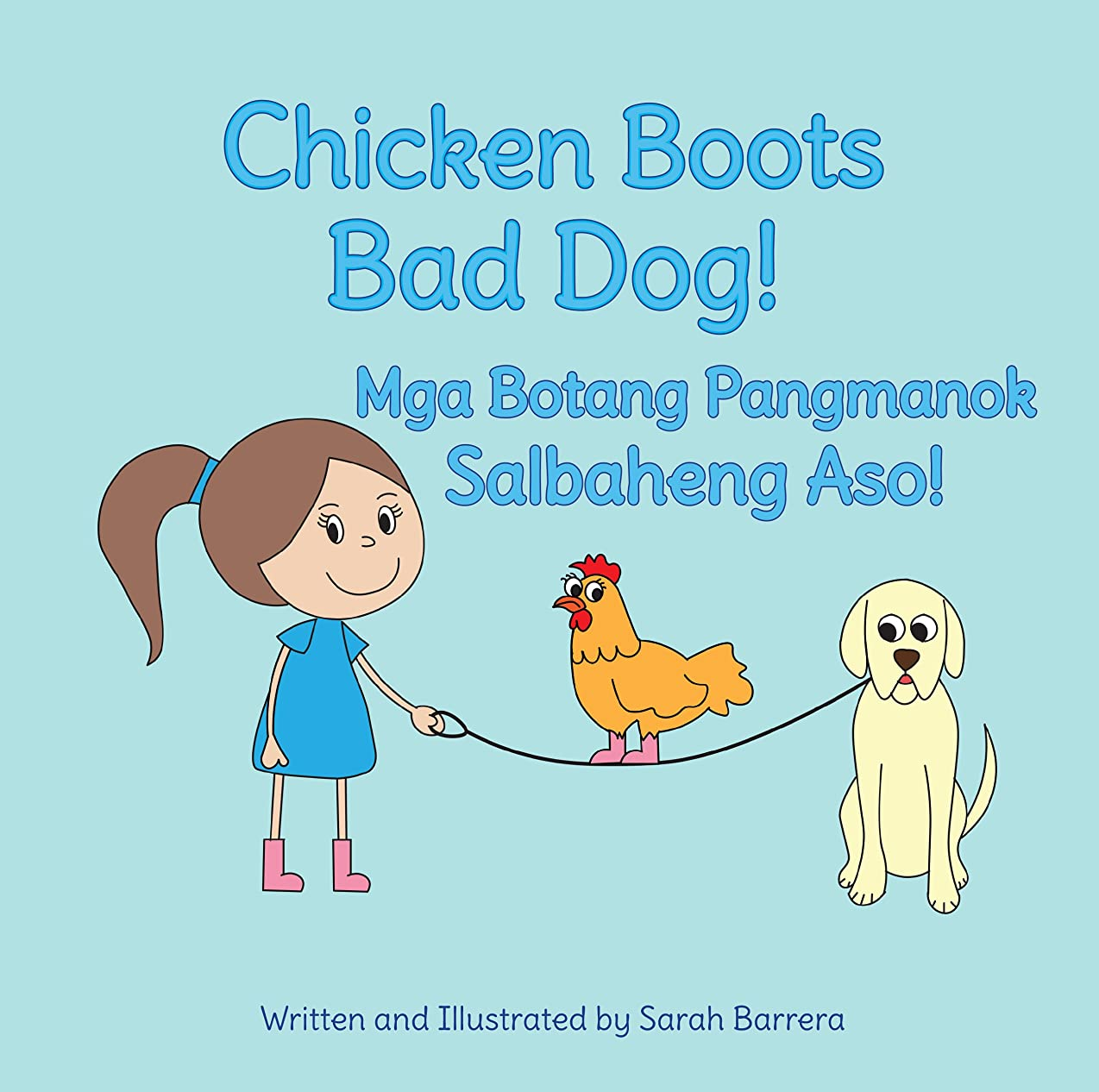 オーナメントソビエトサロンChicken Boots: Bad Dog! / Mga Botang Pangmanok: Salbaheng Aso!: Babl Children's Books in Tagalog and English (English Edition)