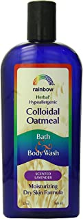 Rainbow Research Colloidal Oatmeal Bath & Body Wash, Lavender Scent - 12 Oz