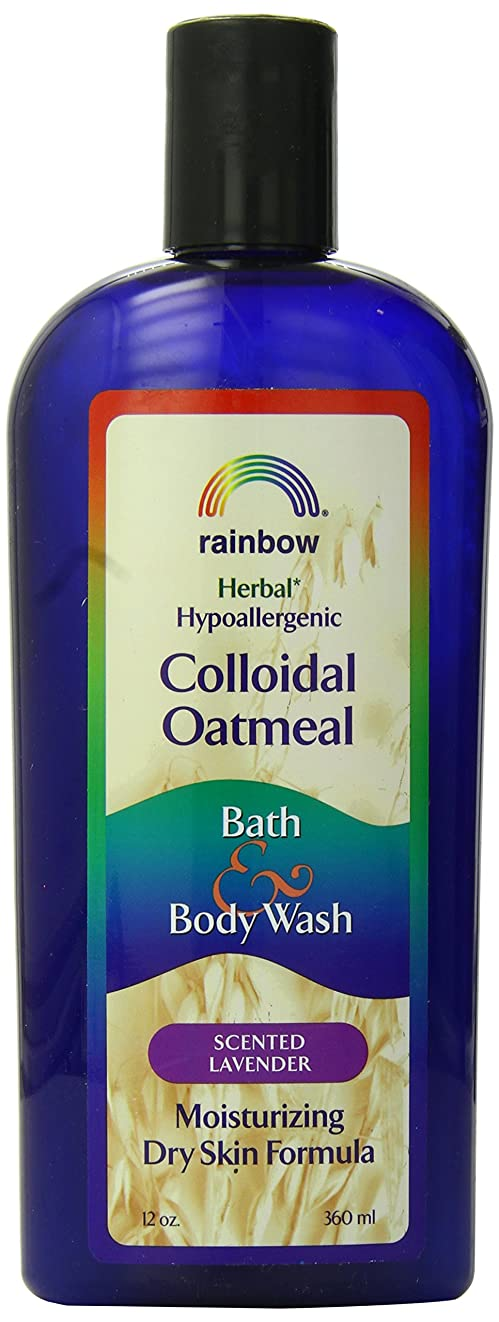 講堂風刺飲食店海外直送肘 Body Wash Lavender Colloidal Oatmeal, Lavender 12 Oz