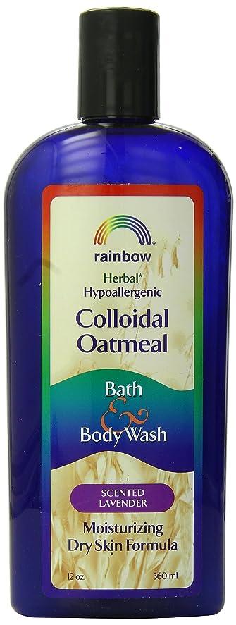 不信要旨鍔海外直送肘 Body Wash Lavender Colloidal Oatmeal, Lavender 12 Oz