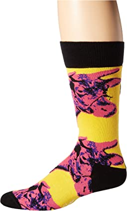 Andy Warhol Cow Sock