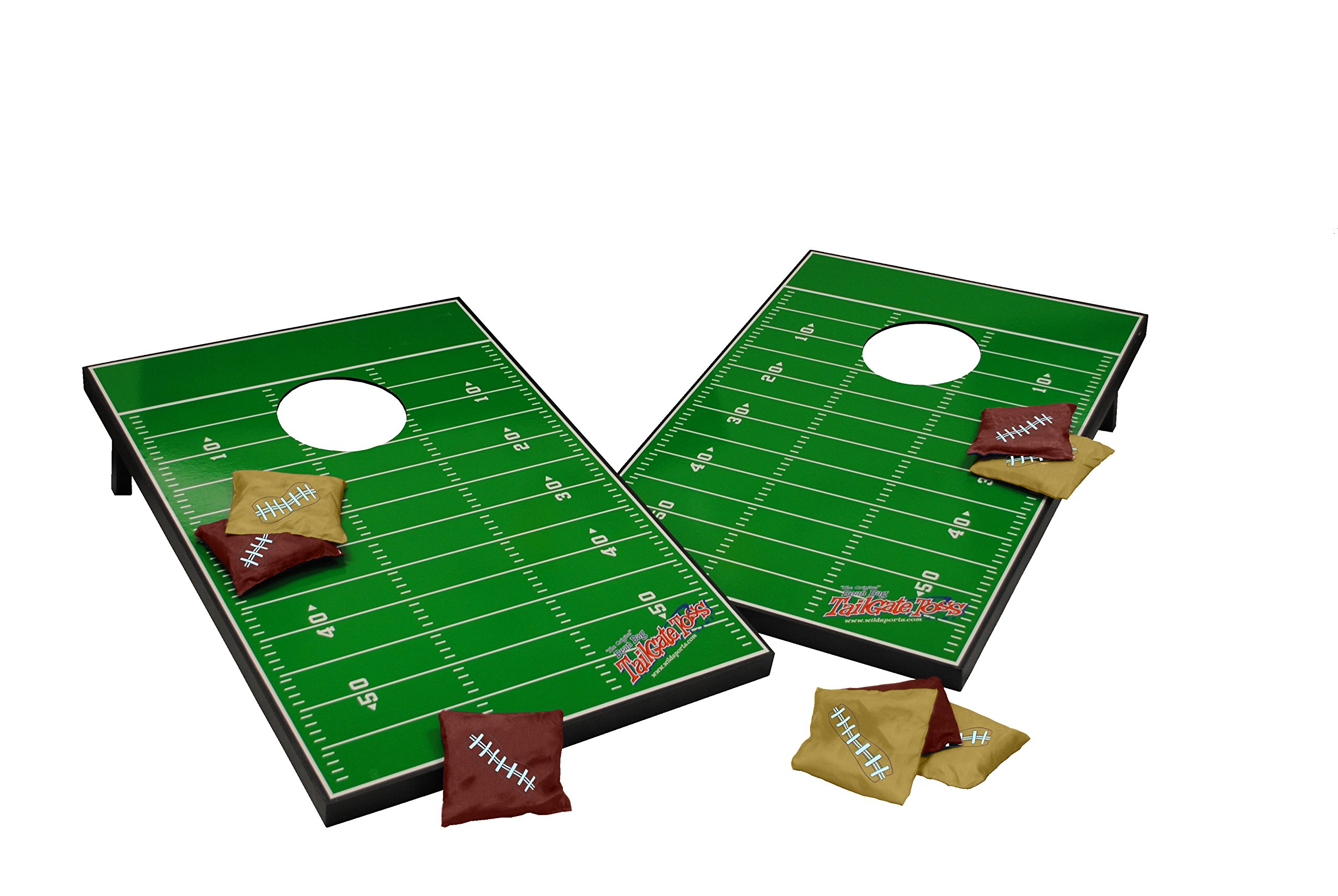 Wild Sports Tailgate Cornhole Football