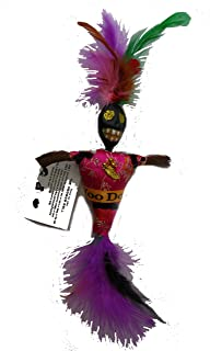CopperFancy LLC New Orleans Voodoo VOO Doo Doll Pink Novelty Gag Gift Party Decoration Marie Laveau Louisiana Religious Culture Christmas Tour Souvenir Doll Cemetery