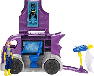 dc super hero girls batgirl doll and playset