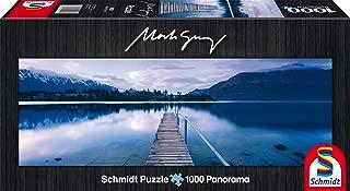 SCHMIDT Lake Wakatipu by Mark Gray Panoramic Puzzle (1000-Piece)