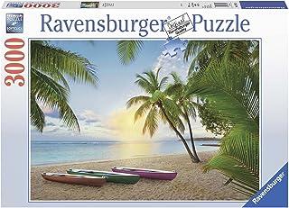 Ravensburger Palm Paradise Puzzle 3000pc,Adult Puzzles