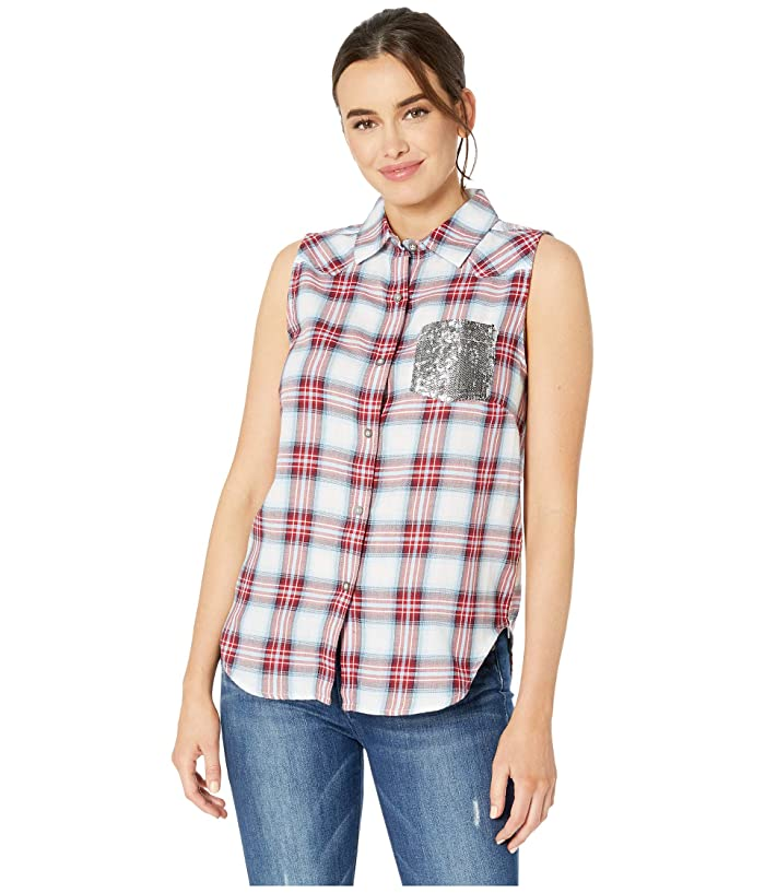 Ariat Liberty Sleeveless Plaid Shirt